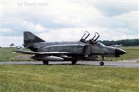 Luftwaffe F-4F taxi-ing to Northern HAS site